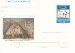 FUSSBALL-FOOTBALL-SOCCER- CALCIO, Italy, Postal Stationery, MNH !! - Coupe Du Monde