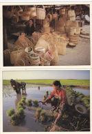 CAMBODIA - 2 CARDS - Cambodia