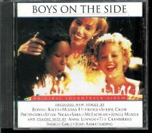 BOYS  ON  THE  SIDE  * ORIGINAL SOUNTRACK ALBUM * BONNIE RAITT, SHERYL CROW....... - Soundtracks, Film Music