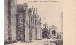 22411 Notre Dame De Quelven -deux CpaDavid Vannes -detail Pignon - 6 Perspective Scala - France