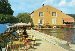 52-BOURBONNE-les-BAINS- Lac De La Mezelle- Animée- - Bourbonne Les Bains