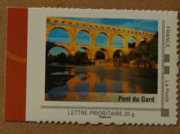 Le Languedoc-Roussillon : Pont Du Gard (autocollant) - France