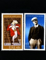 IRELAND/EIRE - 2004  ULYSSES  SET  MINT NH - 1949-... Repubblica D'Irlanda
