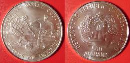 AFGHANISTAN - 500 Afghanis 1991 Copa Mundial Futbol / World Soccer Cup 1994 USA  KM#1013 PLATA Silver 999/1000 12gr. - Afganistán
