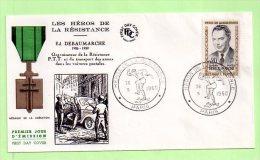 1° Jour, Yvert N° 1248  DEBEAUMARCHE - 1960-1969