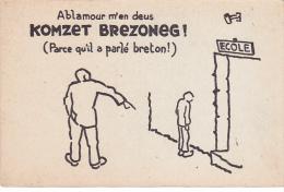 22422 Cartes Postales Mouvement Breton Breiz Atao N° 3 Komzet Brezoneg Parler Breton N° 3 -breizh