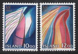 ISLANDE 1986 - Noël 1986 - 2v Neuf ** (MNH) - Islande