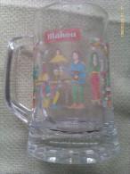 Jarra De Cerveza Mahou. Historia De La Cerveza. Trovadores 1150. España - Jarras