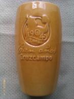 Vaso De Cerveza Cruzcampo. Sevilla. Andalucía. España. 1904-2004 - Vasos