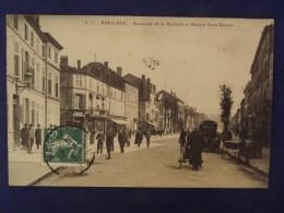 BAR LE DUC Boulevard De La Rochelle Et Banque Varin Bernier 1909 - Bar Le Duc