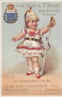 ANCIENNE IMAGE CHROMO CHROMOS TICKET DE CHAISE CHAISES 1875 EXPOSITION MARITIME TOP RARE PUB AU DOS LITHO APPEL - Unclassified