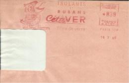 Lettre  EMA Isolants Et Rubans  Cete Ver Fibre De Verre  Animaux Oiseaux ????? Themes   06 Nice  A5/38 - Oiseaux