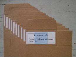 Superbe Boites All 15 Cartouches 7.92 Vendu Par 10, Munitions, Douilles, Balles - 1939-45