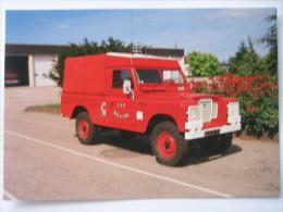 LAVAL  Land Rover  Camion  Pompier   -    Thème  Sapeurs Pompiers - Laval