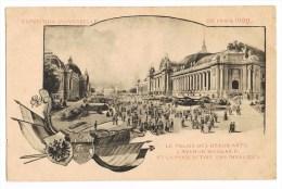 Exposition Universelle De Paris 1900   Le Palais Des Beaux-Arts, L'Avenue Nicolas II. Et La Perspective Des Invalides. - Mostre