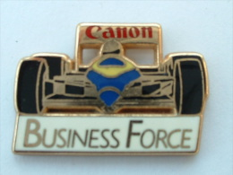 Pin´S FORMULE 1 -  WILLIAMS RENAULT - CANON - BUSINESS FORCE - F1