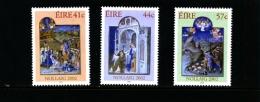 IRELAND/EIRE - 2002  CHRISTMAS  SET  MINT NH - 1949-... Repubblica D'Irlanda