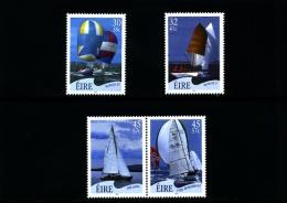 IRELAND/EIRE - 2001  YACHTS SET  MINT NH - 1949-... Repubblica D'Irlanda
