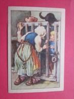 KOLLNFLOCKEN SIND VOLLKORNFLOCKEN GRIMMS MARCHEN  Bild 5 Série Allemande > Contes De Grimm Allemagne Chromo Image - Schokolade