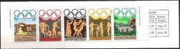 Olympia 1984: Heftchen Mi-Nr.1557-1561 (MH 2) ** MNH  (Katalog € 6.00) - Summer 1984: Los Angeles