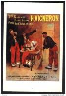 CP Publicité D´Etienne Joannon Pour Les Machines àcoudre H.Vigneron 1907. (229) - Publicité