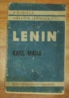 ROMANIA-V.I.LENIN,K.MARXS - Boeken, Tijdschriften, Stripverhalen