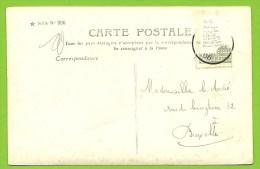 53 Kaart Verstuurd Met Correspondentie Onder De Postzegels / Message Secret Sous Le Timbre / Fraude Postale :texte Sous - 1893-1907 Armoiries