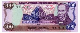 NICARAGUA 500 CORDOBAS 1985 Pick 155 Unc - Nicaragua