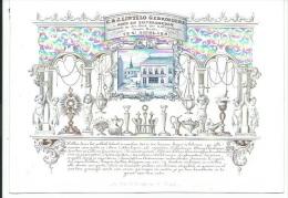 PORSELEINKAART.SINT-NIKLAAS. C.& J.Lintelo Gebr.,Goud- En Zilversmeden,St.Nicolaes. - Advertising