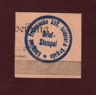 CACHET  Militaire - Occupation Allemande Par Le 3 ème Reich - Guerre De 1939-45