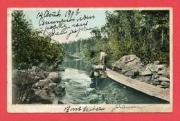 USA - Adirondack Mountains - Saranac River - Martin's Channel - New-York USA - Adirondack