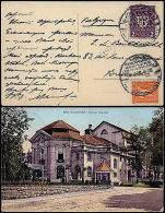 Germany 26-6-1-1922 - Infla - Postcard Bad Kissingen To Brussels Belgium - Germany