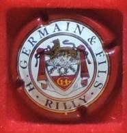 Capsule De Champagne - H Germain & Fils  - N°: 20 - Inscription RILLY  . - Germain