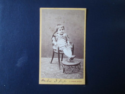 Vintage Cabinet Card , Wien - Signiert