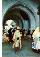 C P M----MAROC------TETUAN--- Calle El Ayun---voir 2 Scans - Autres