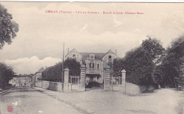 22426 Gencay, Vienne, Villa Du Palateau, Rue De La Gare, Chemin Brun. L.B.G. Série B - Gencay