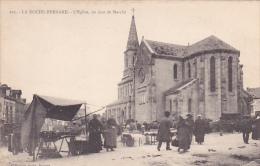 22429 La Roche-Bernard . L´Eglise Un Jour De Marché -292 David Vannes - La Roche-Bernard