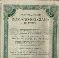 6X Romano Belgiana De Petrol Petrole Roumanie - Pétrole
