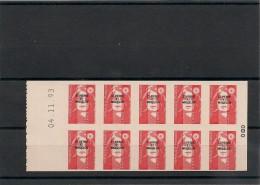 S.P.M. Année 1993 Carnet  N° Y/T : C590** Côte : 19,00 € - Cuadernillos/libretas