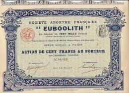 5X Euboolith - Industrie
