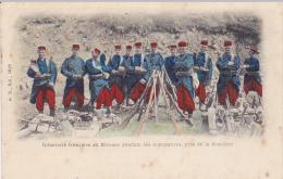 Cpa-militaria-infanterie Francaise-animée- Au Bivouac-precurseur- Edi G.S.sch N°1028 - Personnages