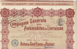 5X Compagnie Generale Des Automobiles De Livraison - Automobile