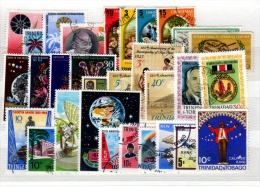 Trinidad And Tobago - Stockcard Of 30 Stamps - Used - Trinité & Tobago (1962-...)