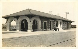 Réf : A-14-0602 : Oregon S.P. Depot  Klamath Falls Ore. Cost  Rail-way - Non Classés