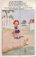 Humour, Canard Et Enfant (Comique 7158) - Humour