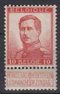 BELGIË - OBP -  1912 - Nr 118 - MH* - 1912 Pellens