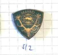 WORLD HUNTING EXHIBITION BUDAPEST HUNGARY - MAVAD / Chasse Caccia Jacht Caza Jagt / Rabbit Lapin & Cornes Horns - Pin's & Anstecknadeln