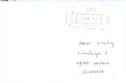 Spanien Madrid Kastenstempel 2014 - Poststempel - Freistempel