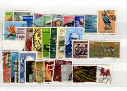 South Africa - Stockcard Of 30 Stamps - Used - South Africa (1961-...)