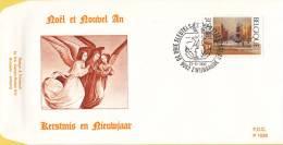België - FDC 1038 - 21 November 1992 - Kerstmis-Nieuwjaar. Werk Van Luc De Decker (1907 - 1982) - OBP 2488 - FDC